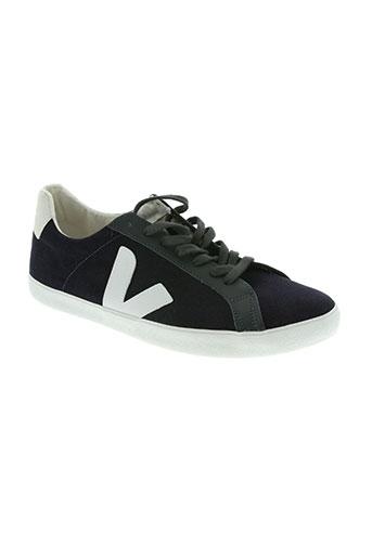 veja chaussures homme de couleur bleu