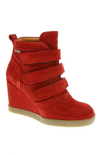bee.fly chaussures femme de couleur rouge