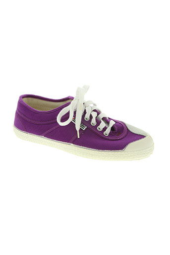 kawasaki chaussures homme de couleur violet
