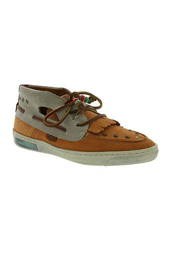dolfie chaussures femme de couleur orange