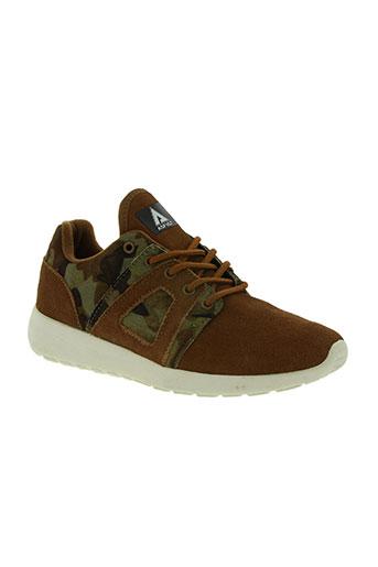 asfvlt chaussures unisexe de couleur marron