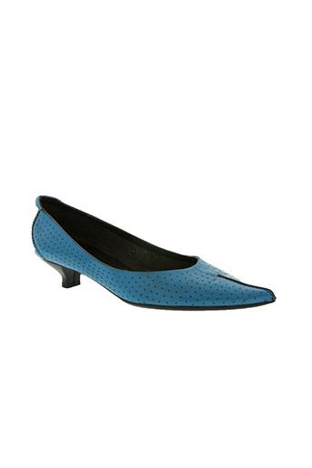 braccialini chaussures femme de couleur bleu