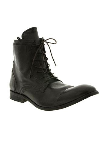 hudson chaussures homme de couleur noir