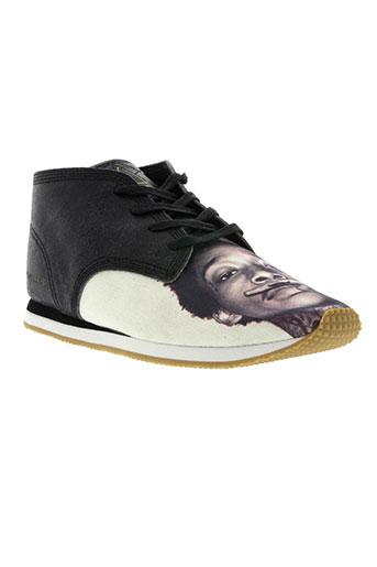 eleven paris chaussures homme de couleur marron