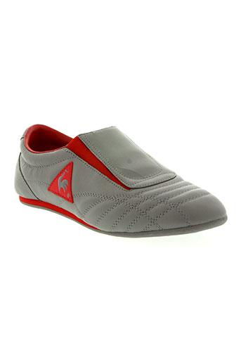 le coq sportif chaussures femme de couleur gris