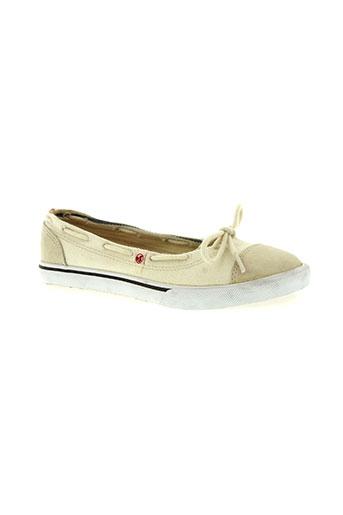 dvs chaussures femme de couleur beige