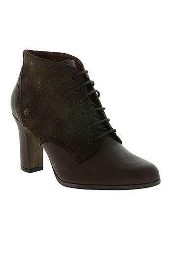 neosense chaussures femme de couleur marron