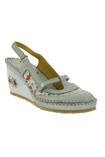 art chaussures femme de couleur gris