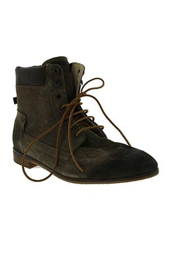 kost chaussures femme de couleur marron