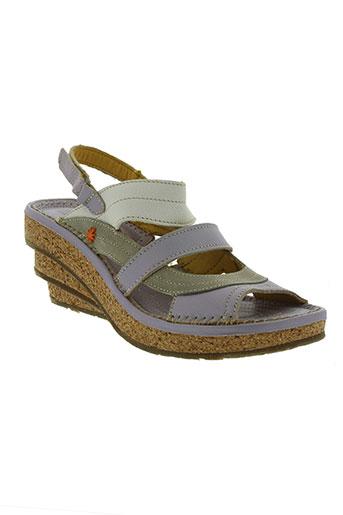 art chaussures femme de couleur violet