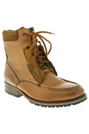 pepe jeans chaussures homme de couleur marron