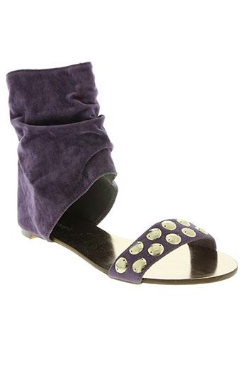 schu chaussures femme de couleur violet