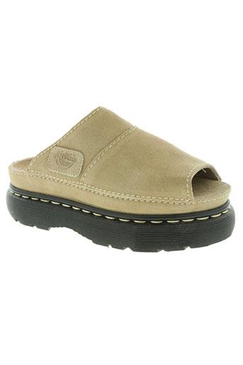 dr martens chaussures femme de couleur beige