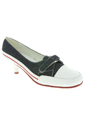 kalao chaussures femme de couleur bleu