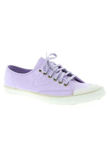 tretorn chaussures femme de couleur violet
