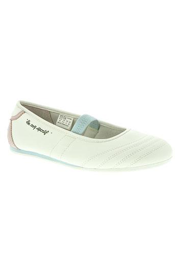 le coq sportif chaussures femme de couleur blanc