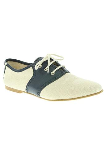 feiyue chaussures femme de couleur bleu