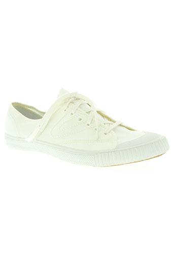 tretorn chaussures femme de couleur blanc
