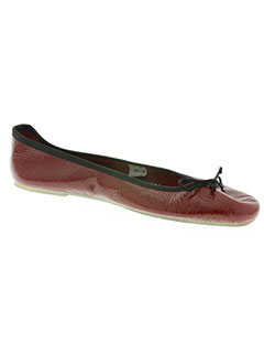 Chaussons/Pantoufles rouge THE FRENCH TOUCH pour femme