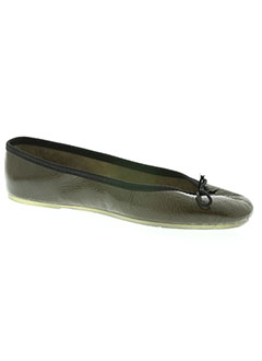 Chaussons/Pantoufles vert THE FRENCH TOUCH pour femme