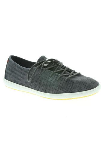 lafeyt chaussures homme de couleur gris