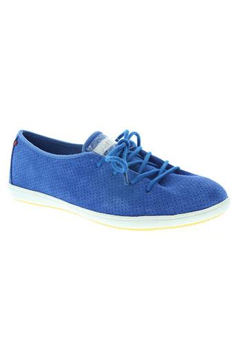 lafeyt chaussures homme de couleur bleu