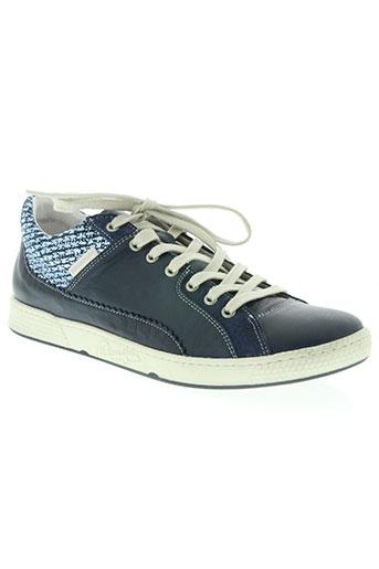 pataugas chaussures femme de couleur bleu