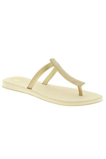 melissa chaussures femme de couleur jaune