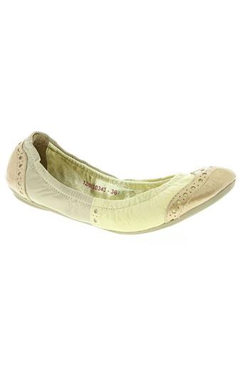 les tropeziennes chaussures femme de couleur jaune
