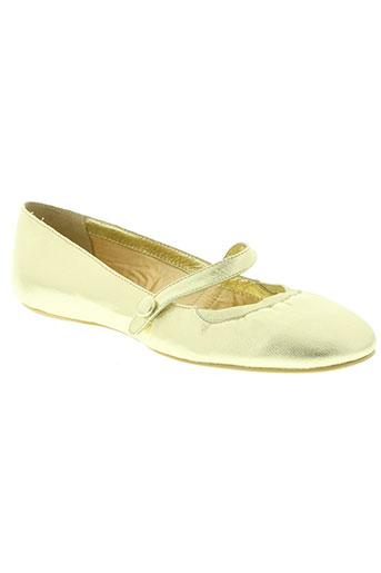 koah chaussures femme de couleur jaune