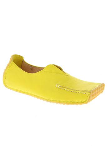 bob marley chaussures femme de couleur jaune