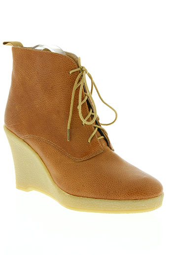mellow yellow chaussures femme de couleur marron