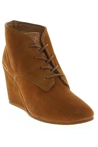 eleven paris chaussures femme de couleur marron