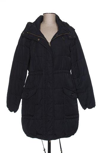 ichi manteaux femme de couleur noir