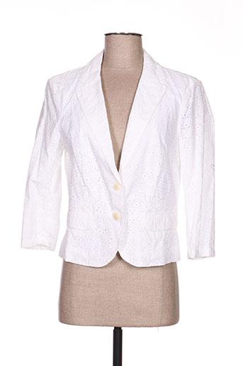 Veste casual blanc ESPRIT pour femme