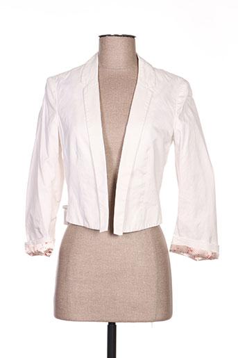 Veste chic / Blazer beige DE.CORP BY ESPRIT pour femme