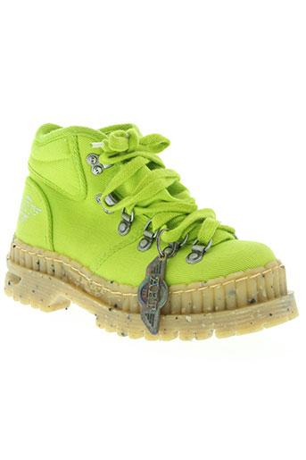 art chaussures femme de couleur vert