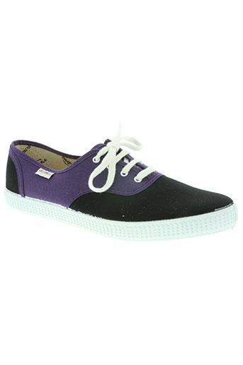 victoria chaussures homme de couleur violet