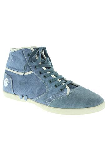 tpacc by peter schmid chaussures homme de couleur bleu