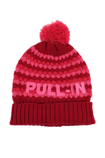 pull in accessoires femme de couleur rose