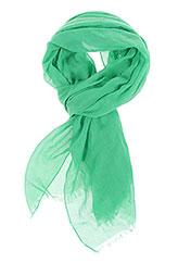 17e7bb5373ae Caroll Foulards Femme De Couleur Vert En Soldes Pas Cher 874283 ...