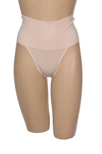 sara blakely lingerie femme de couleur chair