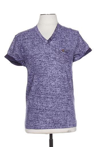 relay jeans t-shirts homme de couleur violet