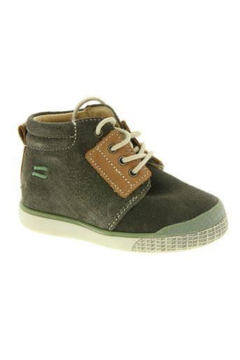 babybotte chaussures garçon de couleur vert