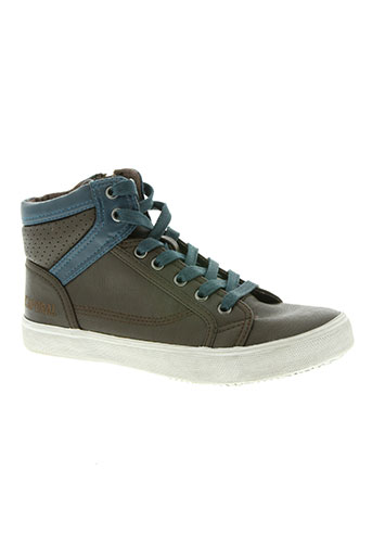 kaporal chaussures garçon de couleur marron