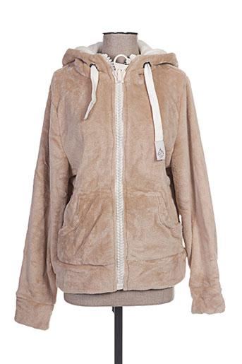 mountain wear by lilawadi vestes femme de couleur marron