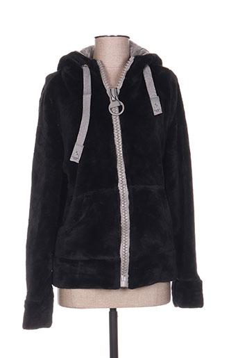 mountain wear by lilawadi vestes femme de couleur noir
