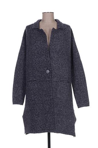 exquiss's vestes femme de couleur bleu