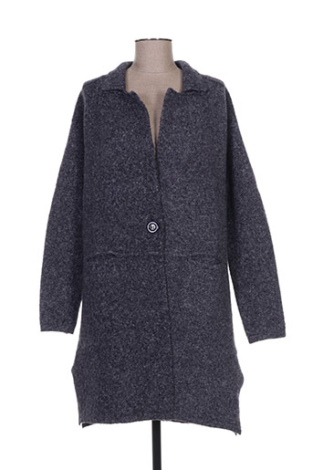Veste casual bleu EXQUISS'S pour femme