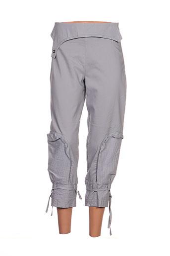 2026 pantacourts femme de couleur gris